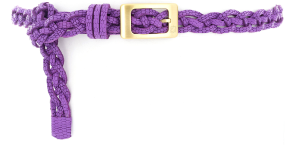 Allie Braid Leather Belt